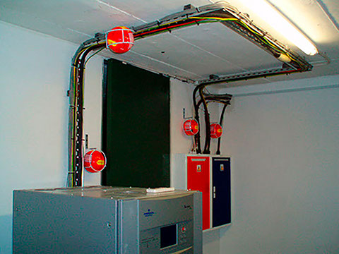 Sistema de combate a incendio Locus Arquivos