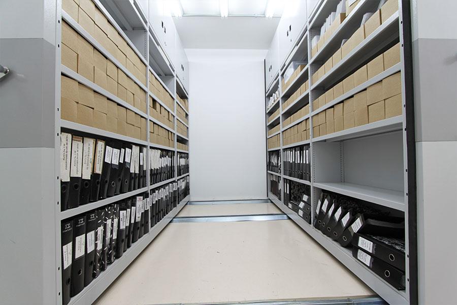 Arquivo deslizante Cartório