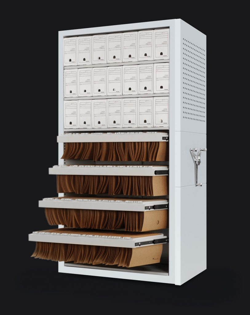Componentes-Arquivo-deslizante-Caixa-Pasta-Suspensa-Locus-Arquivos