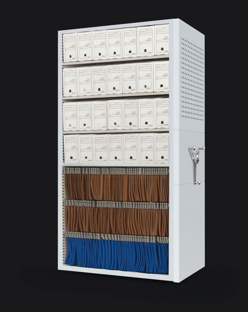 Componentes-Arquivo-deslizante-caixa-arquivo-inativo-Pasta-pendular-Locus-Arquivos